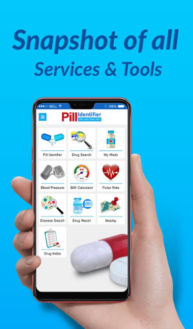 Pill Identifier Pro and Drug Info screenshot 1