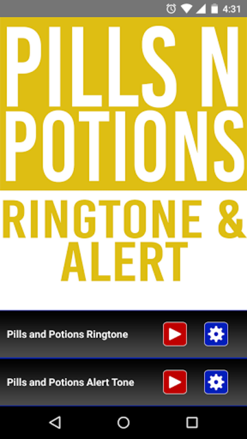 Pills and Potions Ringtone screenshot 1