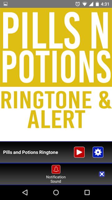 Pills and Potions Ringtone screenshot 3