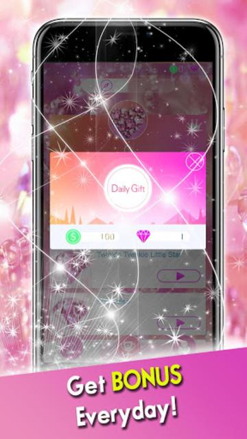 Pink Diamond Piano Tiles 2019 screenshot 1