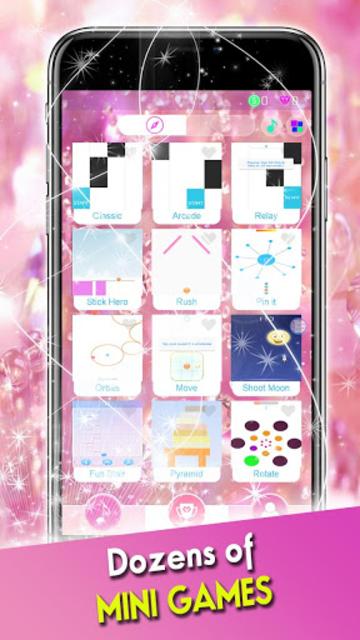 Pink Diamond Piano Tiles 2019 screenshot 5