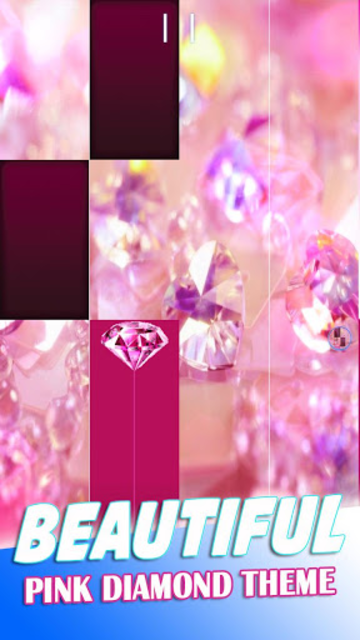 Pink Diamond Piano Tiles 2019 screenshot 8
