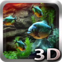Piranha Aquarium 3D Live Wallpaper (5000 $ in sales)