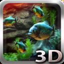 Piranha Aquarium 3D Live Wallpaper (5000 $ in sales)