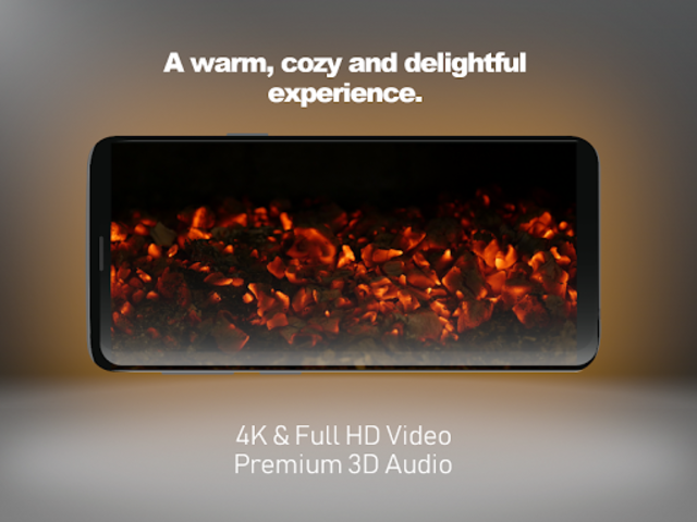 Blaze - 4K Virtual Fireplace screenshot 1