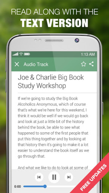AA Joe & Charlie Workshops & Big Book Step Study screenshot 5