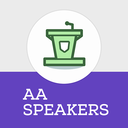 Icon for Alcoholics Anonymous Speakers