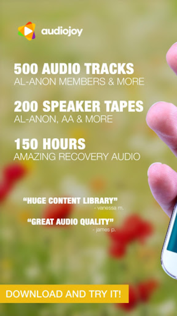 ALANON Speaker Tapes Audio screenshot 1