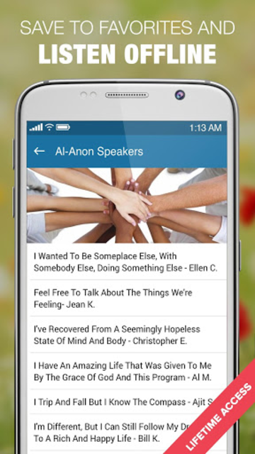 ALANON Speaker Tapes Audio screenshot 3