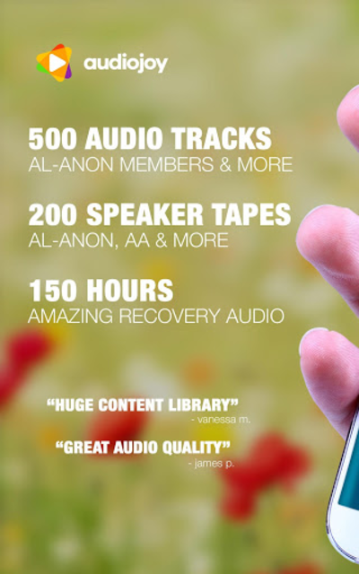 ALANON Speaker Tapes Audio screenshot 6