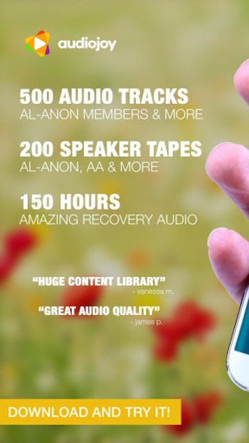 ALANON Speaker Tapes Audio screenshot 11