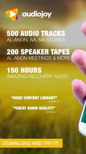 Alanon Personal Recovery Stories Al-Anon & Alateen screenshot 1