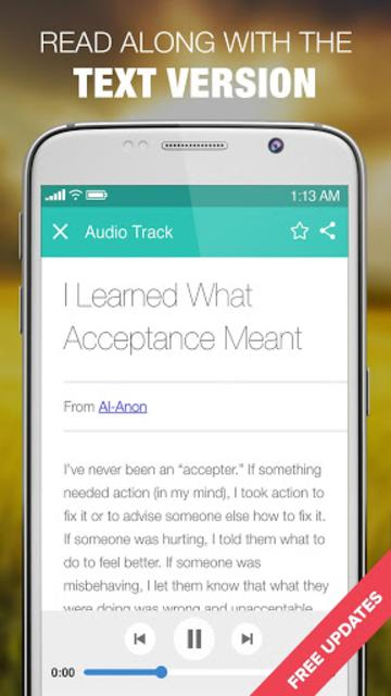 Alanon Personal Recovery Stories Al-Anon & Alateen screenshot 5