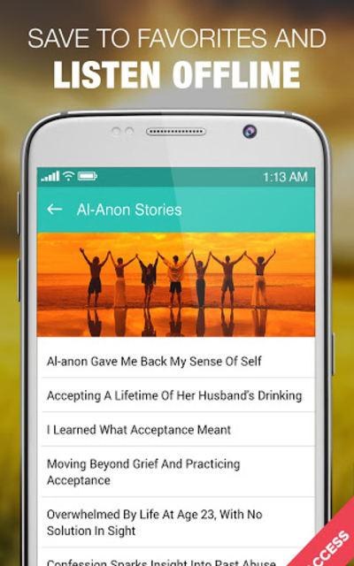 Alanon Personal Recovery Stories Al-Anon & Alateen screenshot 8