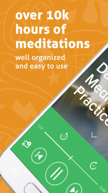 Spectrum | Simple Guided Meditation & Sleep Sounds screenshot 1