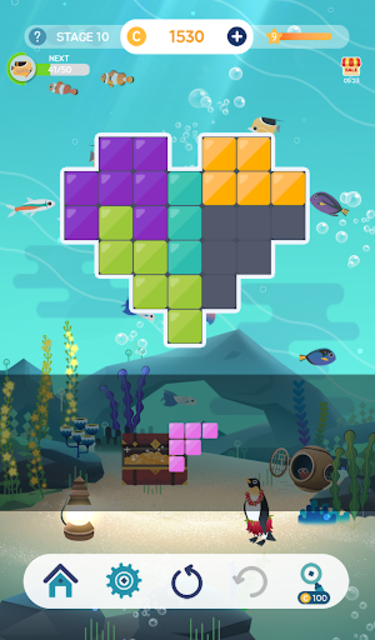 Puzzle Aquarium screenshot 24