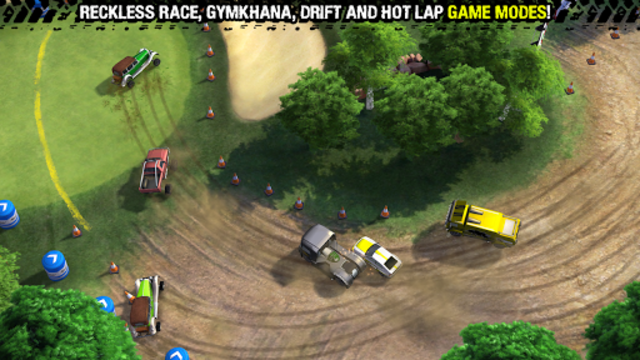 Reckless Racing 3 screenshot 1