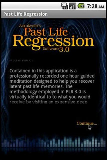 Past Life Regression Hypnosis screenshot 1