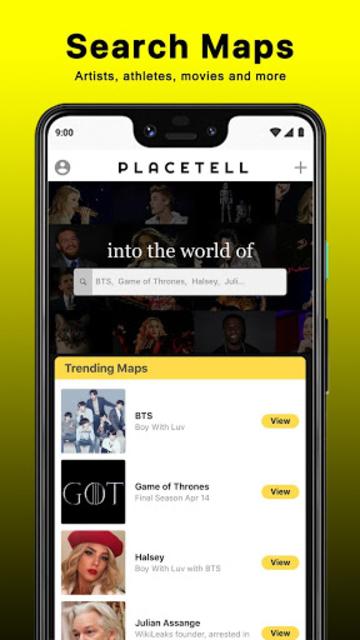 PlaceTell Maps - Find Videos Near You Virtual Tour screenshot 5