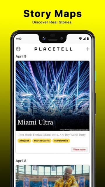PlaceTell Maps - Find Videos Near You Virtual Tour screenshot 7