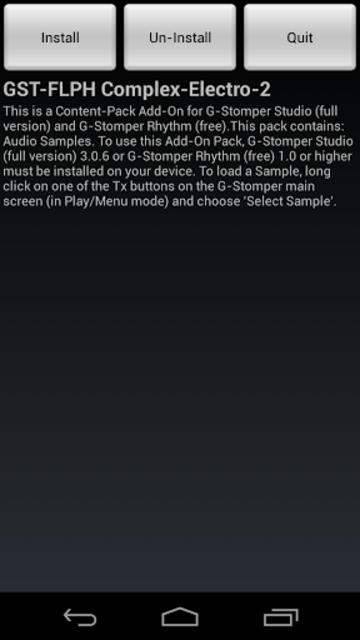 GST-FLPH Complex-Electro-2 screenshot 1
