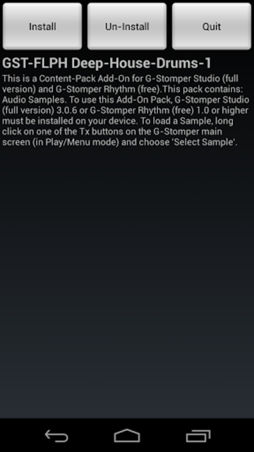 GST-FLPH Deep-House-Drums-1 screenshot 1