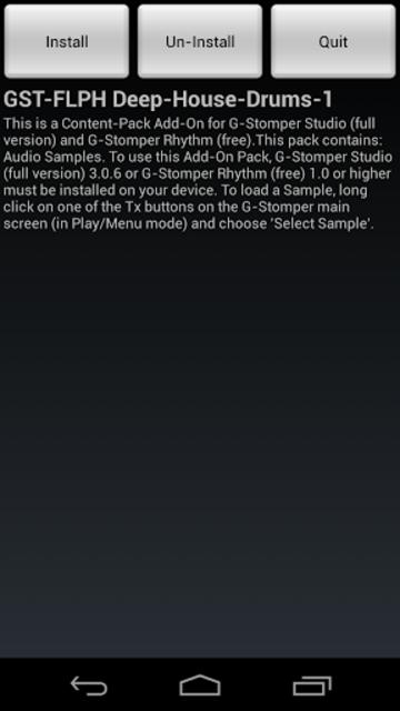 GST-FLPH Deep-House-Drums-1 screenshot 3