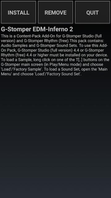 G-Stomper FLPH EDM-Inferno 2 screenshot 1