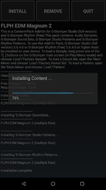 G-Stomper FLPH EDM Magnum 2 screenshot 2