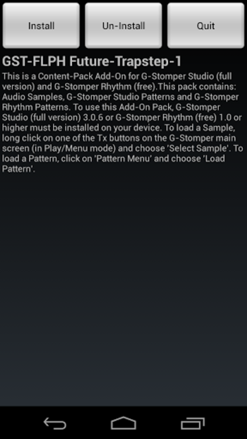 GST-FLPH Future-Trapstep-1 screenshot 3