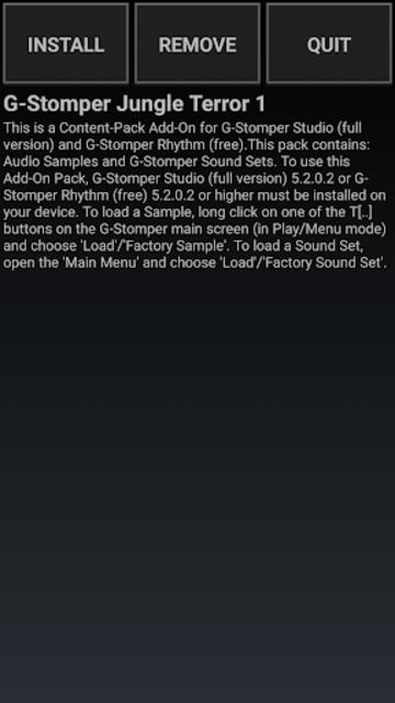 G-Stomper Jungle Terror 1 screenshot 1