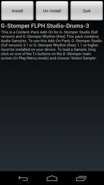 G-Stomper FLPH Studio-Drums-3 screenshot 1