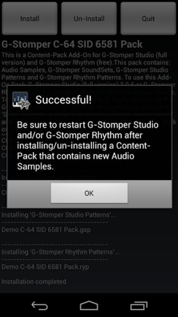 G-Stomper C-64 SID 6581 Pack screenshot 2