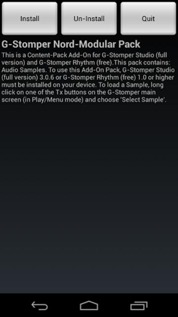 G-Stomper Nord-Modular Pack screenshot 1
