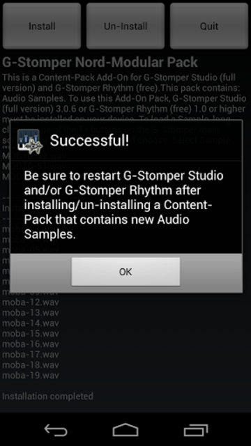 G-Stomper Nord-Modular Pack screenshot 2