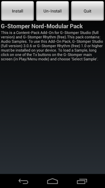 G-Stomper Nord-Modular Pack screenshot 5