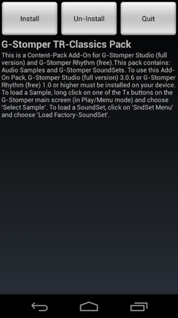 G-Stomper TR-Classics Pack screenshot 1