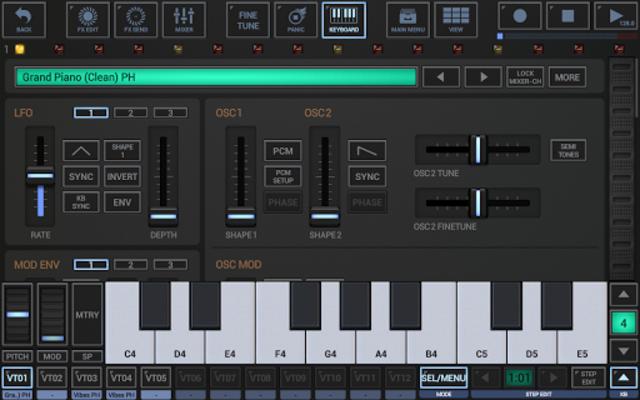 G-Stomper VA-Beast Synthesizer screenshot 2