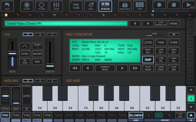 G-Stomper VA-Beast Synthesizer screenshot 3