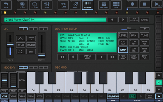 G-Stomper VA-Beast Synthesizer screenshot 11