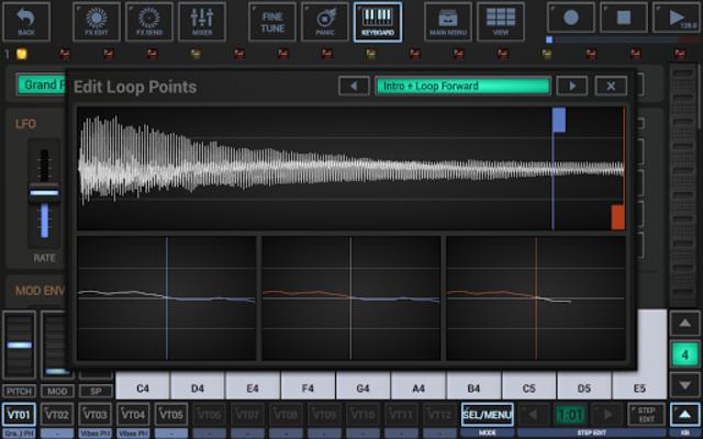 G-Stomper VA-Beast Synthesizer screenshot 12