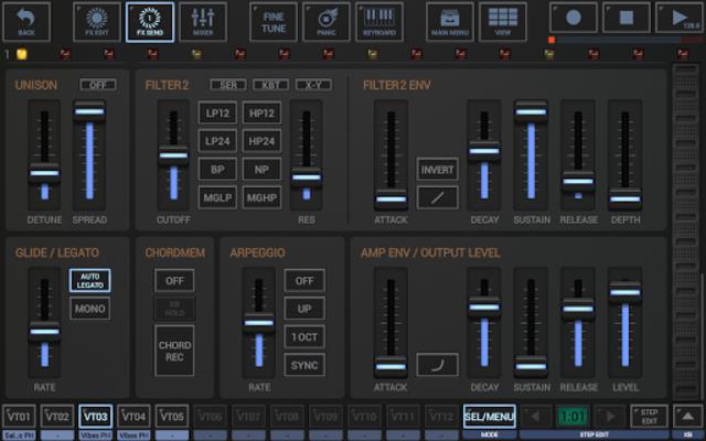 G-Stomper VA-Beast Synthesizer screenshot 13
