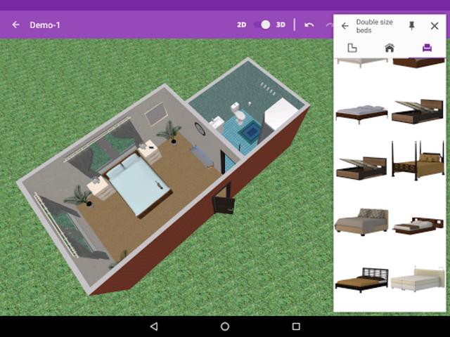 Bedroom Design screenshot 6