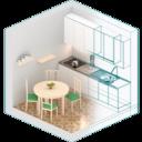 Icon for Kitchen Design