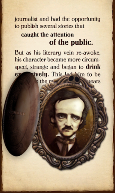 iPoe Collection Vol. 1 - Edgar Allan Poe screenshot 14