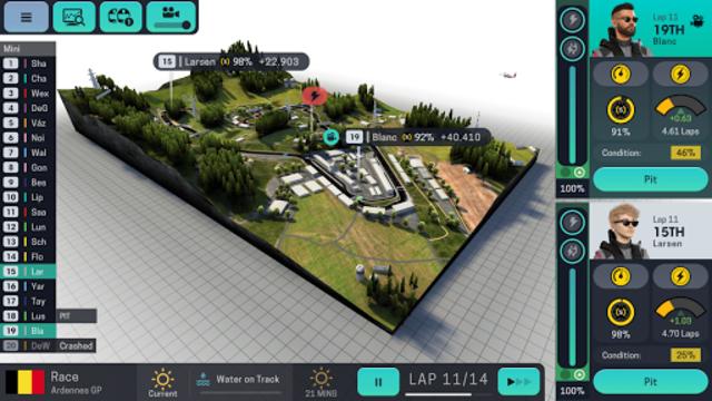 Motorsport Manager Mobile 3 screenshot 3