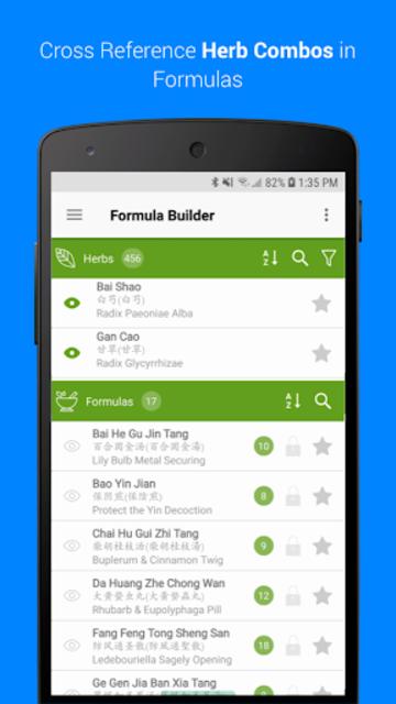 TCM Formula Builder screenshot 1