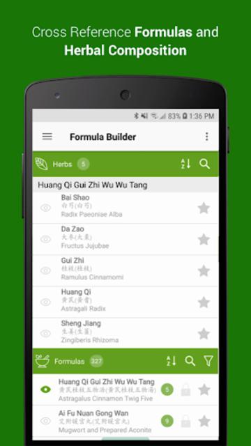 TCM Formula Builder screenshot 2