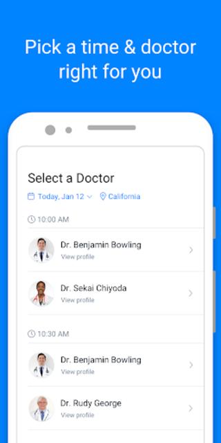 PlushCare: Medical Doctor Care screenshot 3