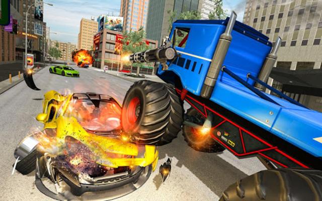 US Police Monster Truck Robot screenshot 3